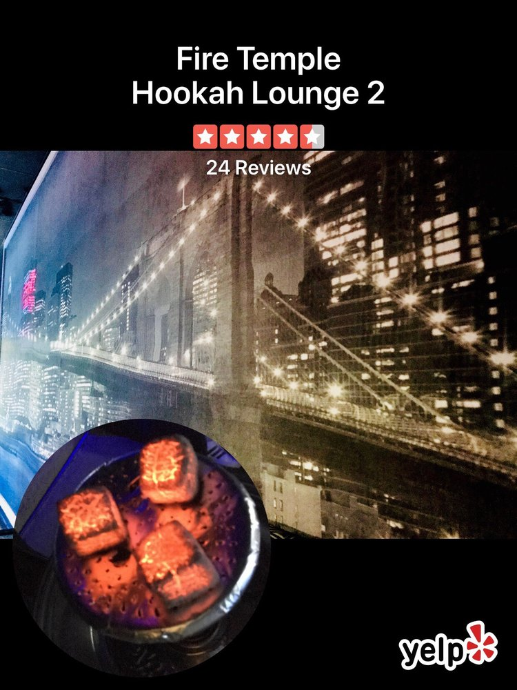 Fire Temple Hookah Lounge 2
