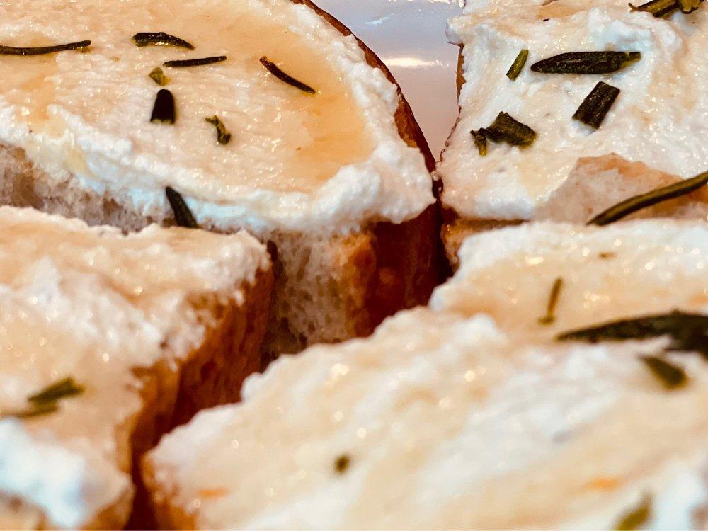 Food from A Tavola Trattoria