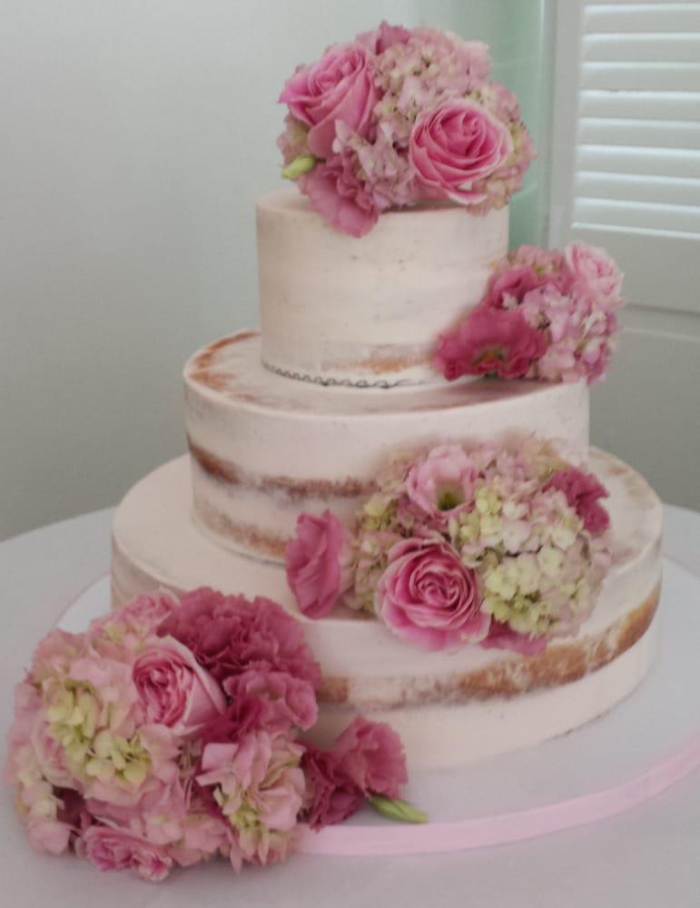 Precious wedding cake floral decoration order yelp photo of 55 fulton flower shop new york ny united states precious junglespirit Choice Image