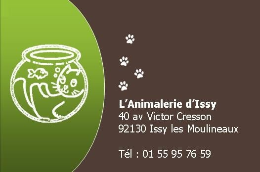 issy  animalerie  40 avenue victor cresson, issy les moulineaux