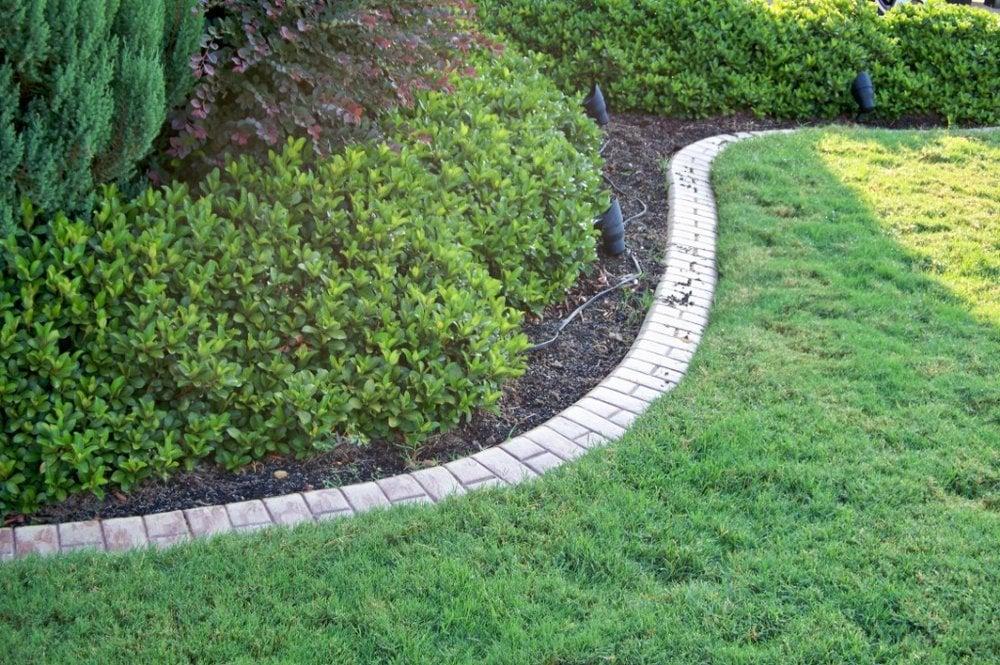 North texas landscape borders closed contractors for Decorative garden edging ideas