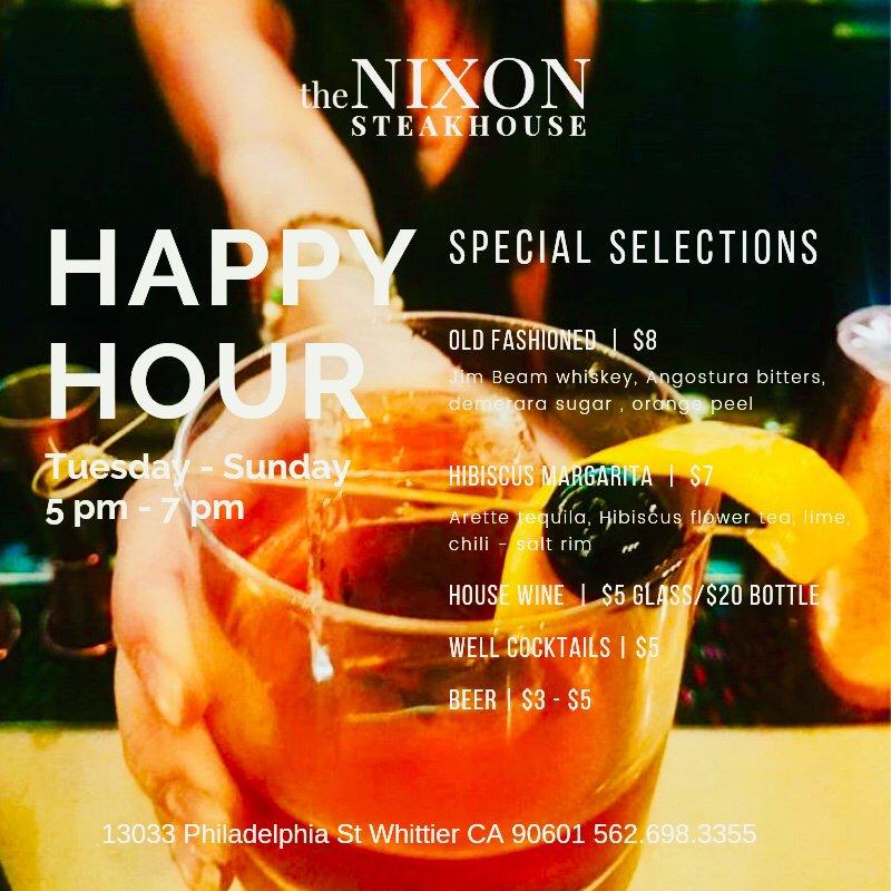 The Nixon Steakhouse: 13033 Philadelphia St, Whittier, CA