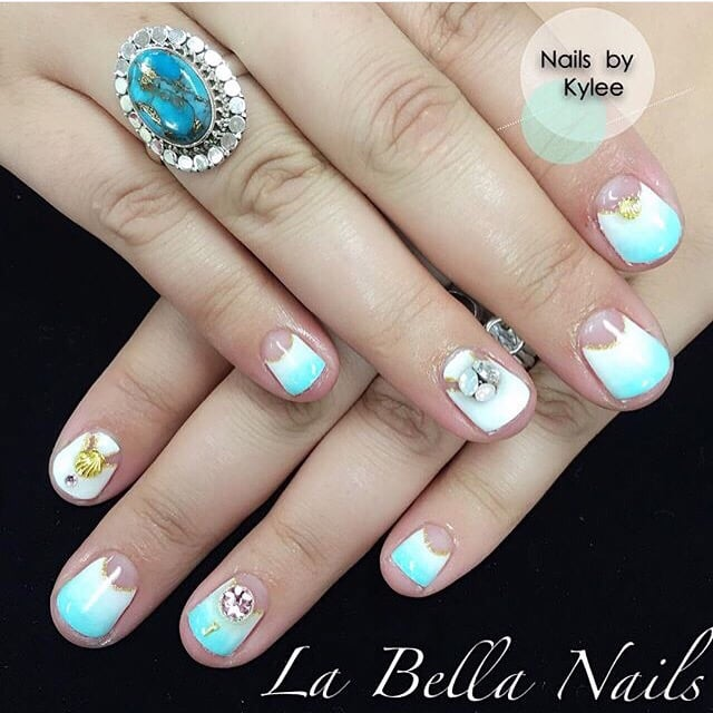 Gel Custom Nail Design By Kylee Yelp