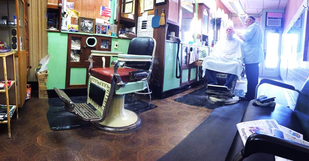 Fred's Barber Shop: 940 Main St, Dubuque, IA