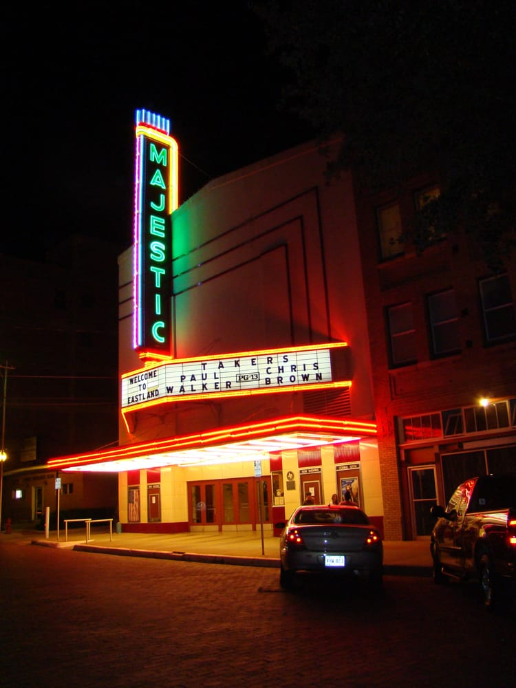 Majestic Theatre: 108 N Lamar St, Eastland, TX