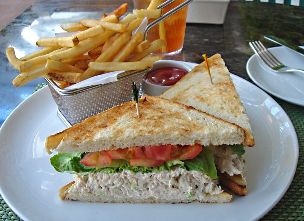 Aninimal Book: Tuna salad sandwich with fries. - Yelp