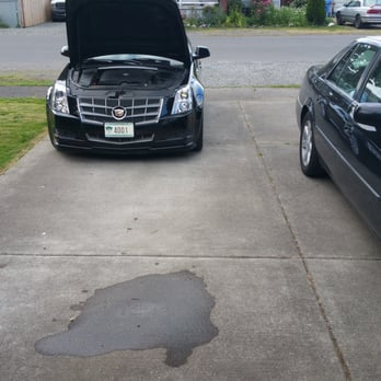 Car Serviced Now Leaking Oil