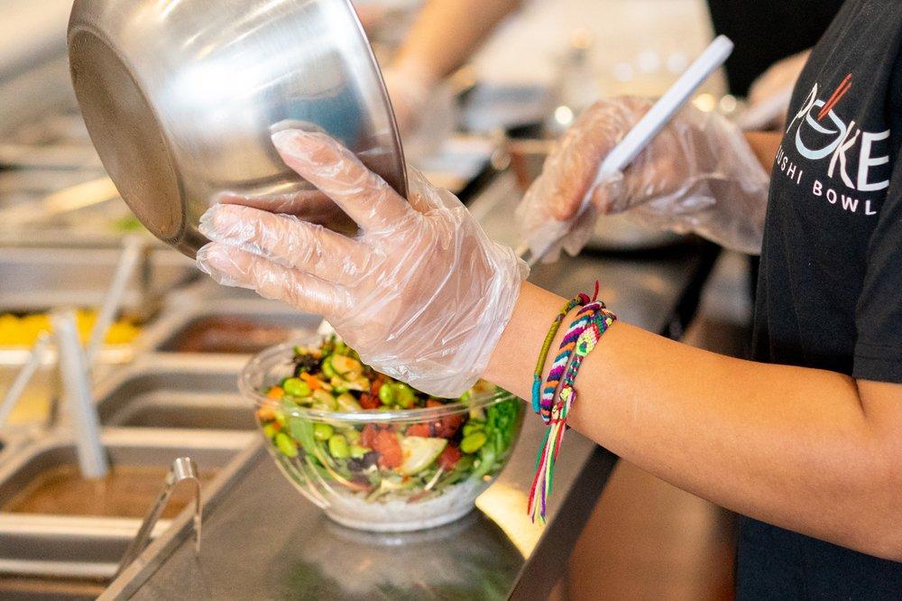 Poke Sushi Bowl: 21435 Epicerie Plz, Sterling, VA
