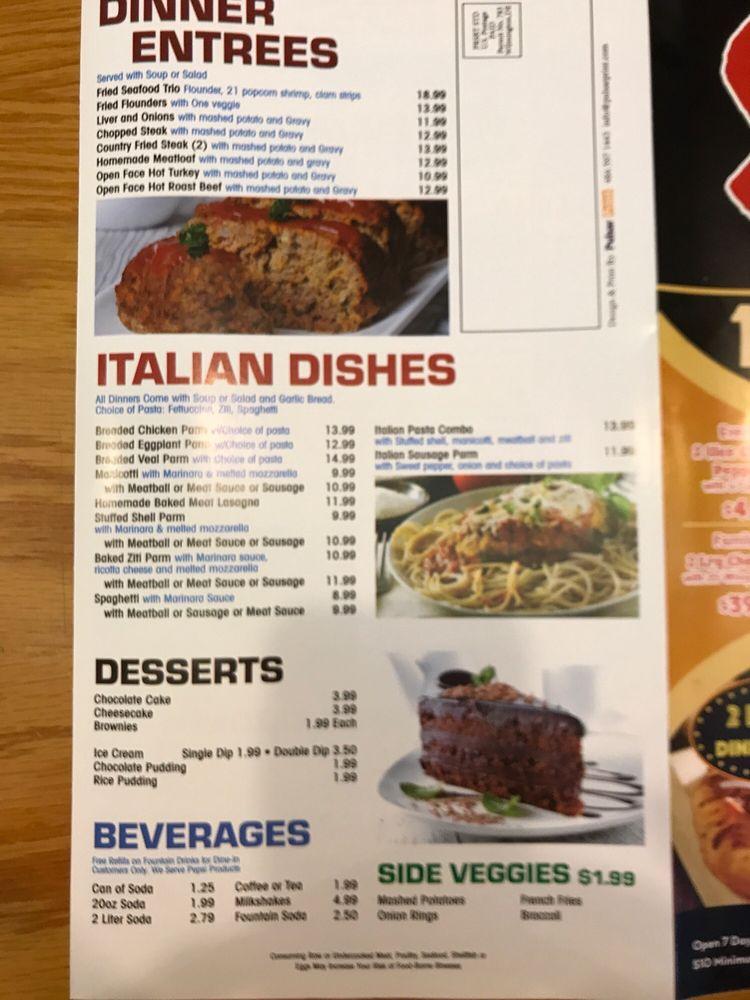 Stargate Pizza Restaurant: 9634 Hickory Ln, Greenwood, DE