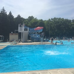 Inground Pools With Diving Board And Slide harrer pool - swimming pools - 6250 dempster st, morton grove, il