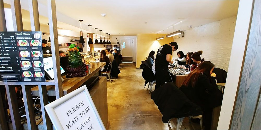 Photo Of Tora Anese Restaurant Boston Ma United States Interior Not