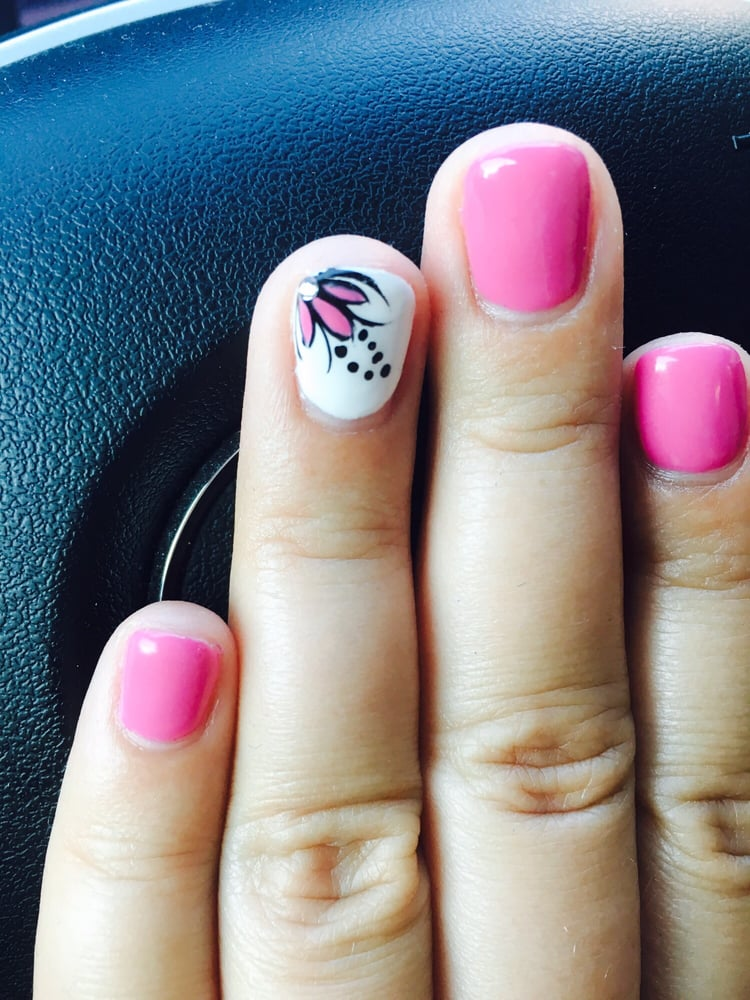 As always, Brian made my short crappy thin nails look fabulous ...