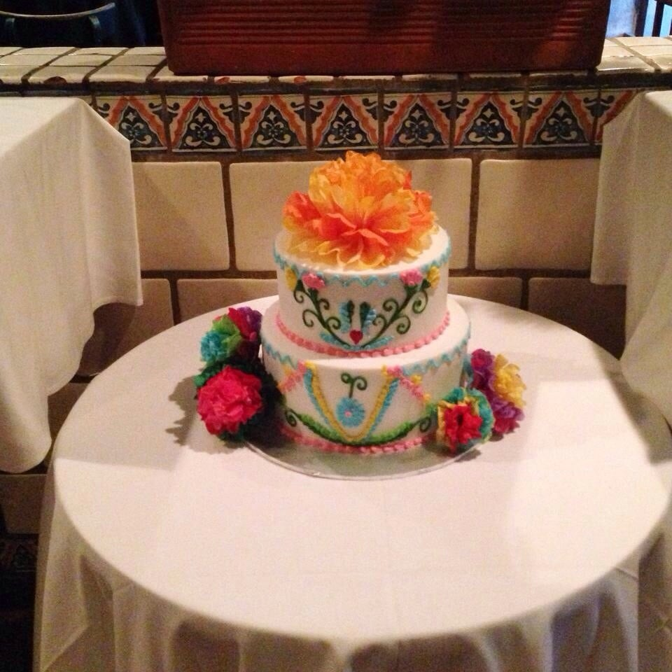 wedding cake san jose mexican themed cake for my parents 30th wedding 23803