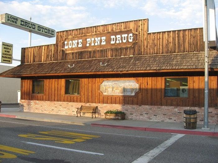 Lone Pine Drugs: 200 N Main St, Lone Pine, CA