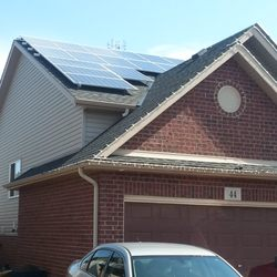 Photo of Ontario Solar Roofing - Niagara Falls ON Canada. solar install ... & Ontario Solar Roofing - 12 Photos - Solar Installation - 5935 ... memphite.com