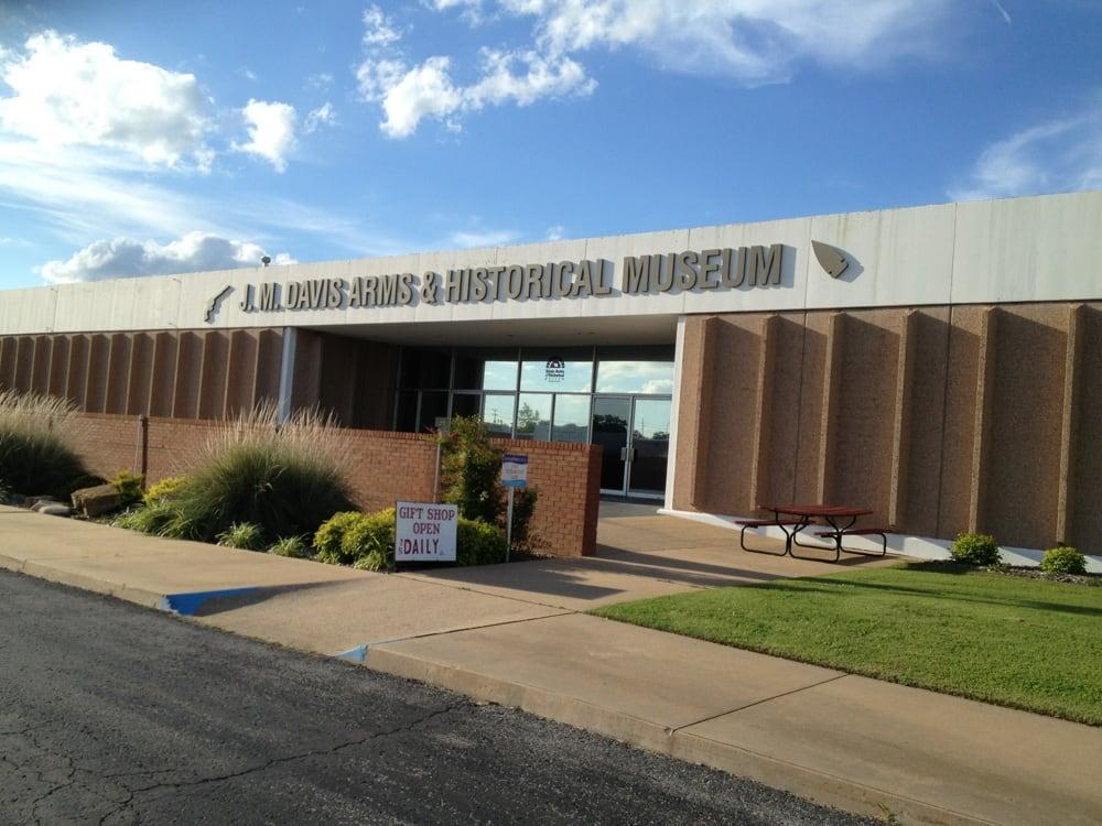 Davis J M Arms & Historical Museum: 333 N Lynn Riggs Blvd, Claremore, OK