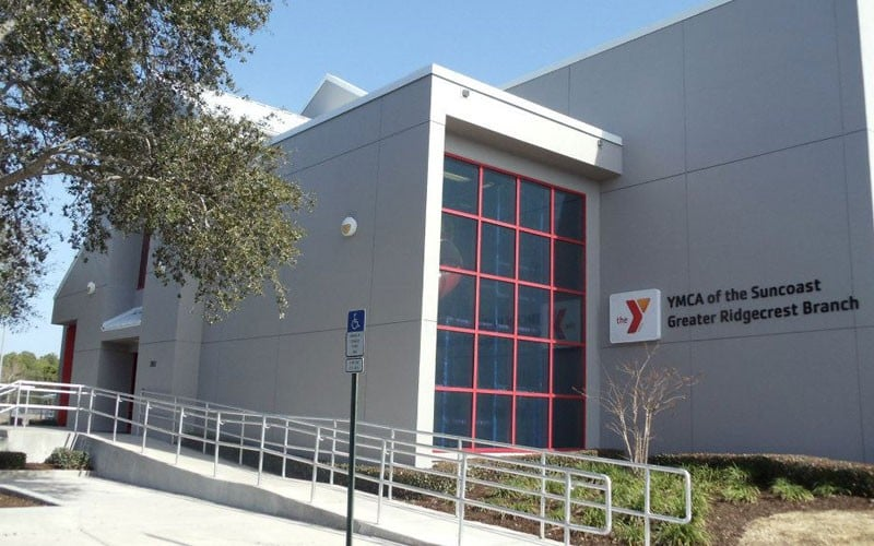 Greater Ridgecrest Branch YMCA: 1801 119th St N, Largo, FL