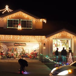 Photo Of Chestnut Christmas Lit Houses   South San Francisco, CA, United  States