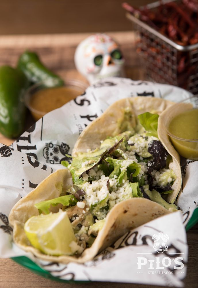 Food from Pilo's Street Tacos