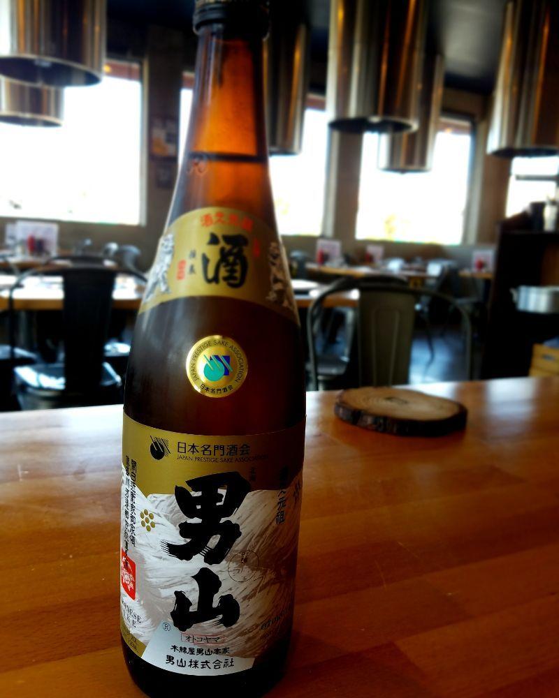 Japanese Sake. Otokoyama. match with Korean BBQ. - Yelp