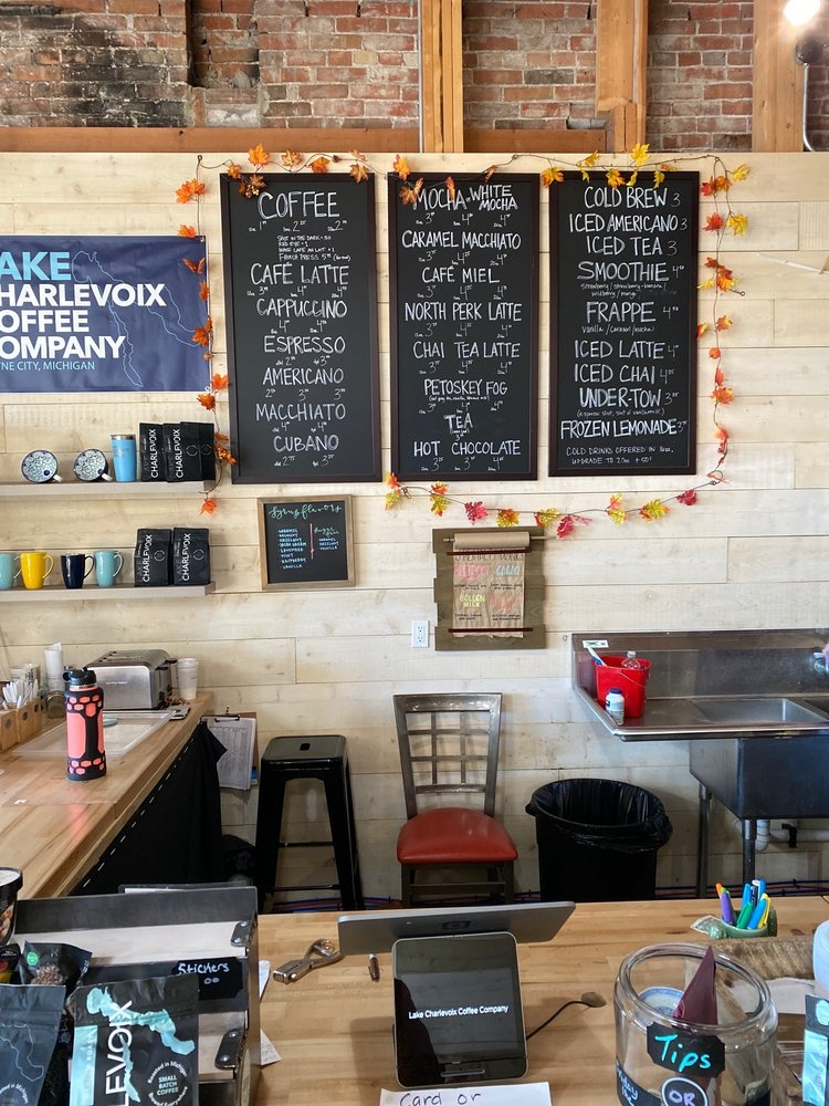 Lake Charlevoix Coffee Company: 202 S Lake St, Boyne City, MI