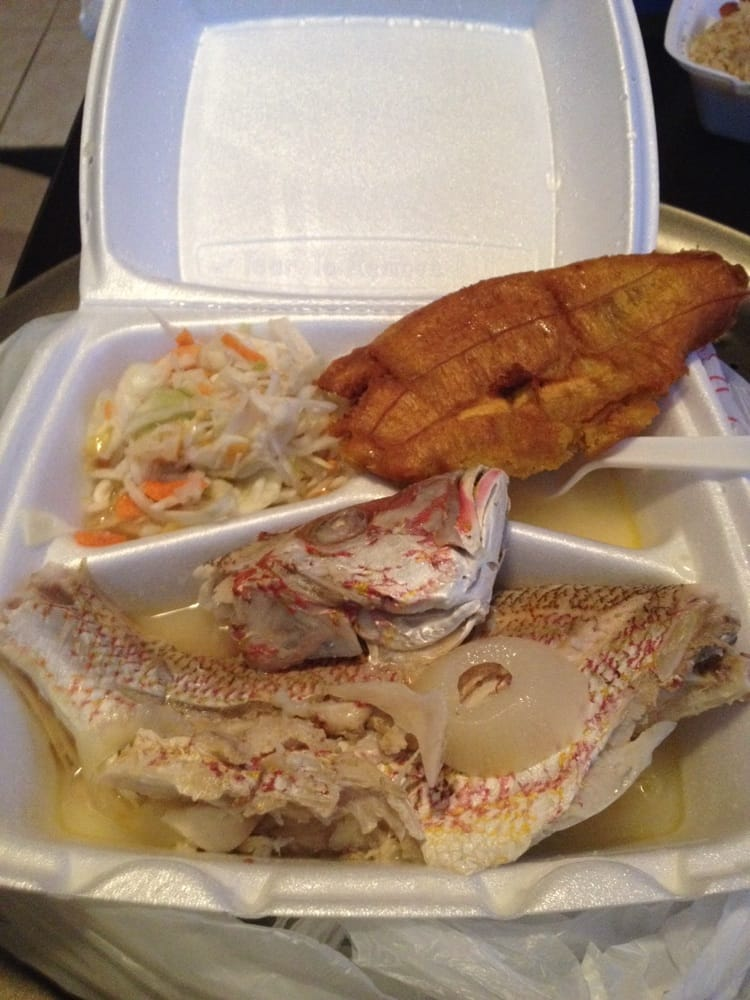 Steamed whole fish with fried plantains yelp for Fish delivery near me