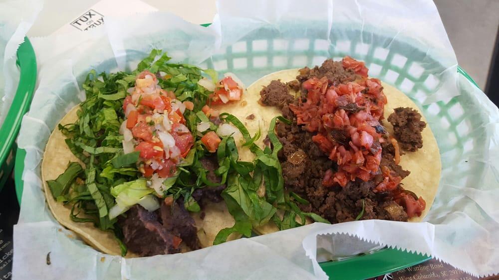 Korean bulgogi and black bean and cheese tacos. - Yelp