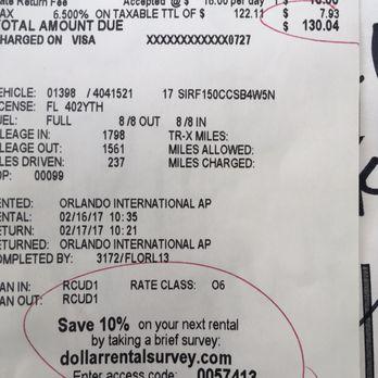 Dollar car rental orlando airport phone number 17