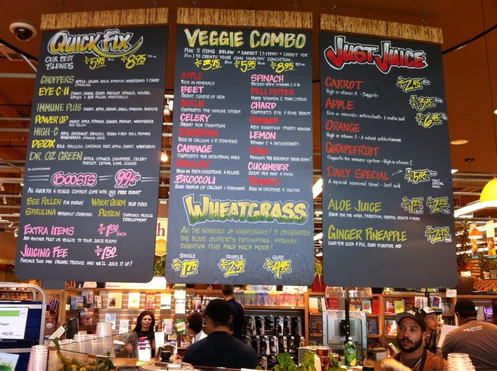 Photos for whole foods jamboree juice bar yelp for Food truck juice bar