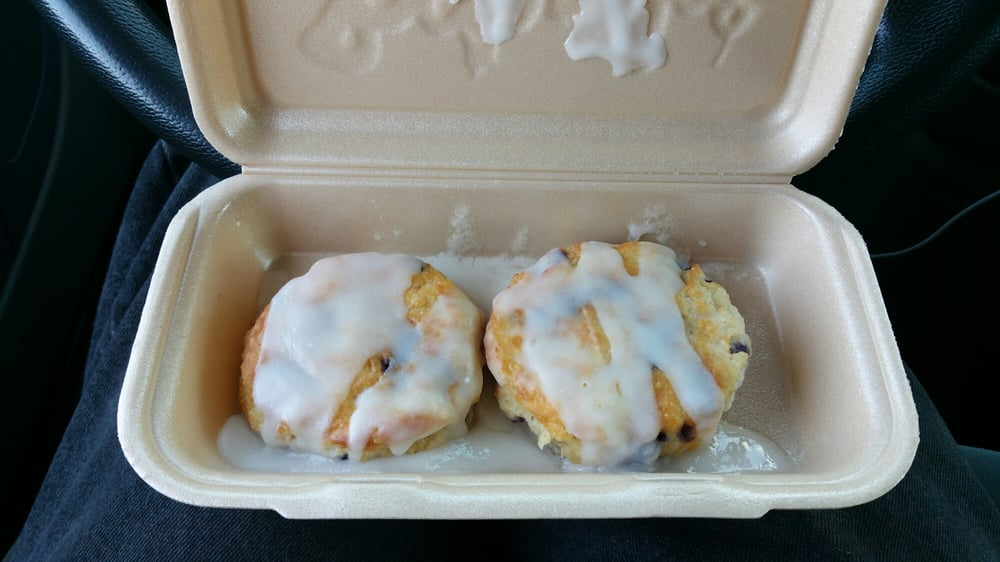 Food from Bojangles' Famous Chicken 'n Biscuits