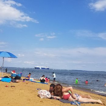Photo Of Sandy Point State Park Annapolis Md United States Day At