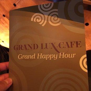 Grand Lux Cafe Boca Raton Happy Hour Menu