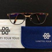 Lunettes Pour Tous - 12 photos   12 avis - Lunettes   Opticien - 3 ... 661c18c9456f