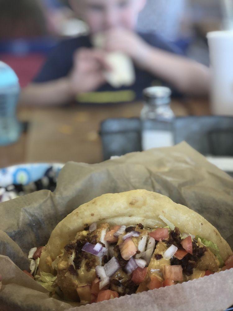 Food from Mextizo Tortas & Tacos