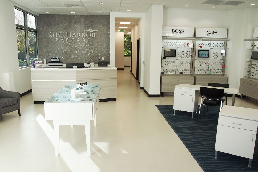 Gig Harbor Eye Care: 4949 Borgen Blvd, Gig Harbor, WA