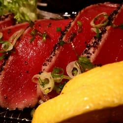 Photo Of Ha Anese Cuisine Duluth Mn United States Peppered Tuna Tataki