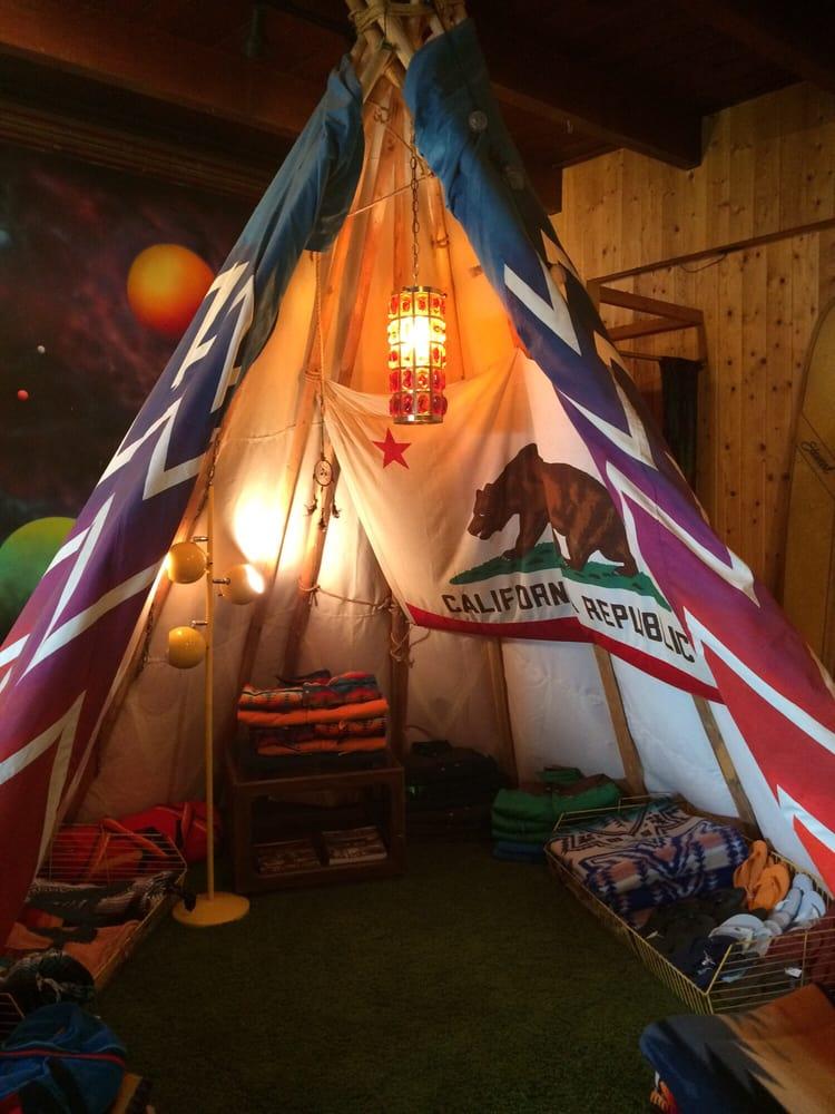Photo of Aviator Nation - Malibu CA United States. Tiki tent inside & Tiki tent inside - Yelp
