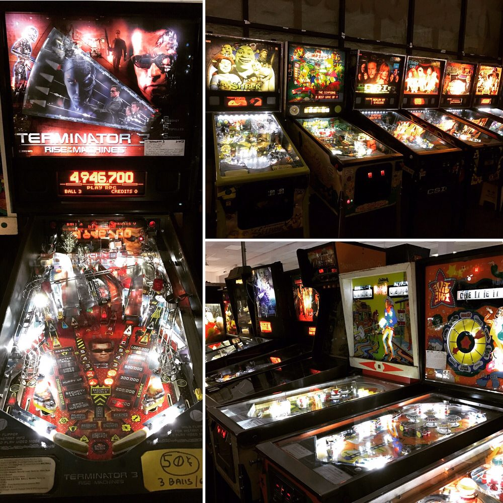 Social Spots from Pinball Hall Of Fame
