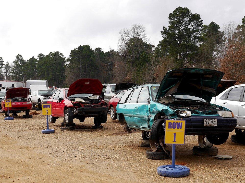 Pickers Self Service Auto Parts: 5512 E 9th St, Texarkana, AR