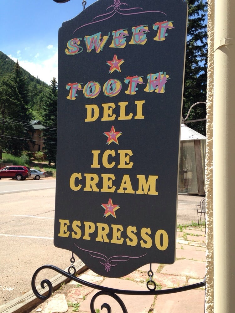 Sweet Tooths Ice Cream: 4455 Fountain Ave, Cascade-Chipita Park, CO