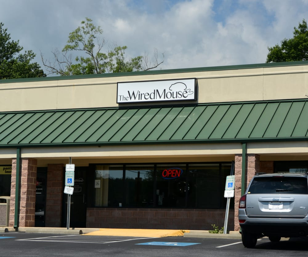The Wired Mouse: 1025 Brevard Rd, Asheville, NC