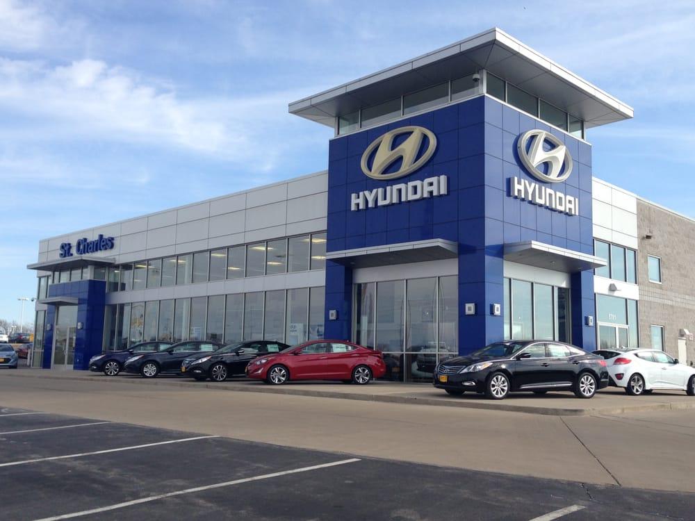 St charles nissan hyundai 18 reviews garages 5625 for Garage hyundai paris 18