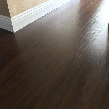 Luxury Vinyl Flooring In Dining Room W New 6 Baseboards Yelp