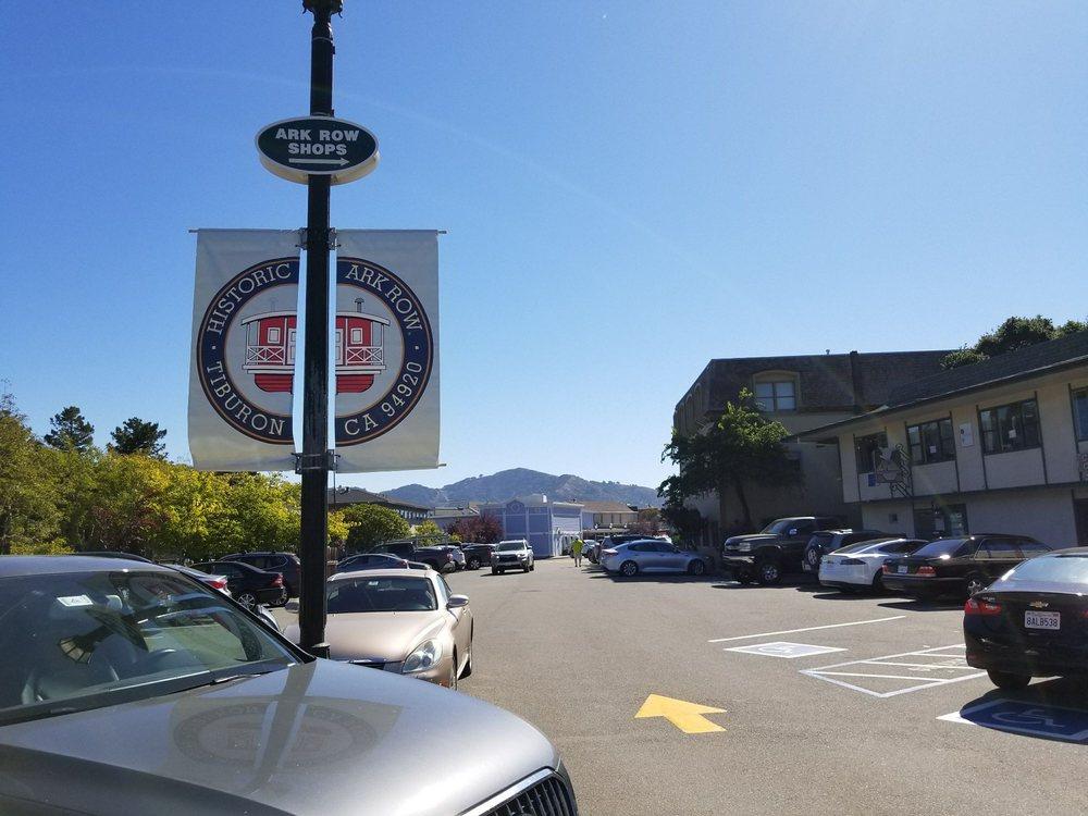 Ark Row: Main St, Tiburon, CA