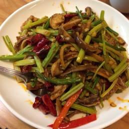 Sautéed Pork Tripe w/ Chinese Celery - Yelp