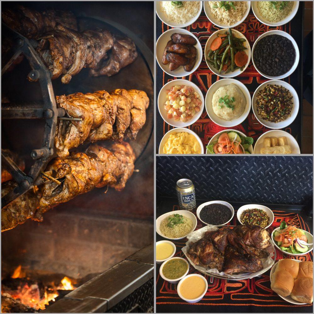 Food from Inka Chicken