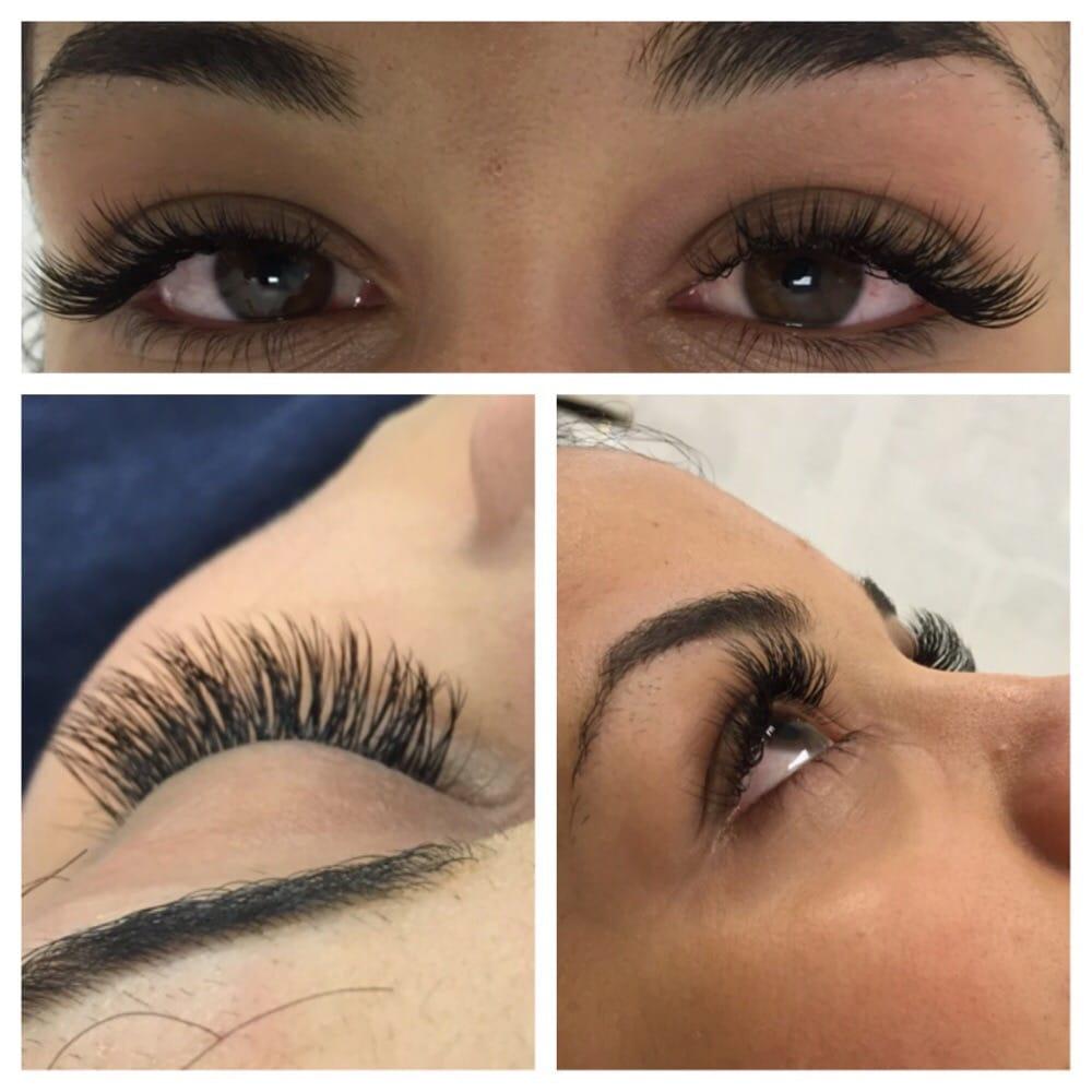 Eyelash Extensions Individual Synthetic Minx Popnaillv Popnaillv