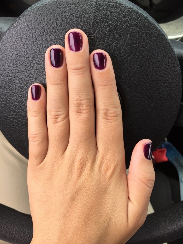 "Auto Service Near Me >> ""DND: Queen of Grape"" done by Tracy! Gel is definitely the way to go!! Loved it! - Yelp"