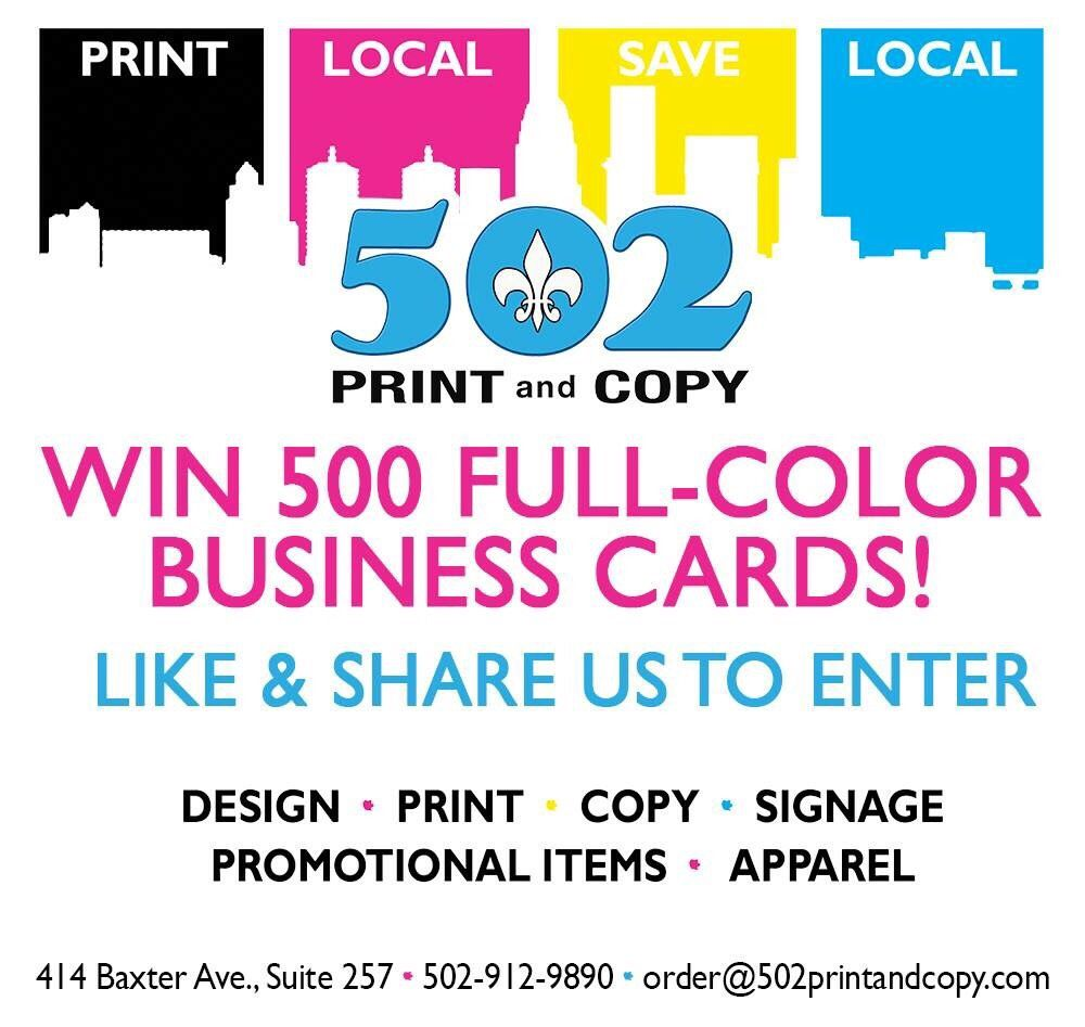 502 PRINT and COPY - Printing Services - Phoenix Hill, Louisville ...