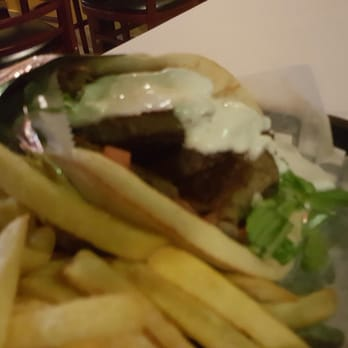 Photo Of Juicy Gyros Miami Beach Fl United States Gyro With Fries